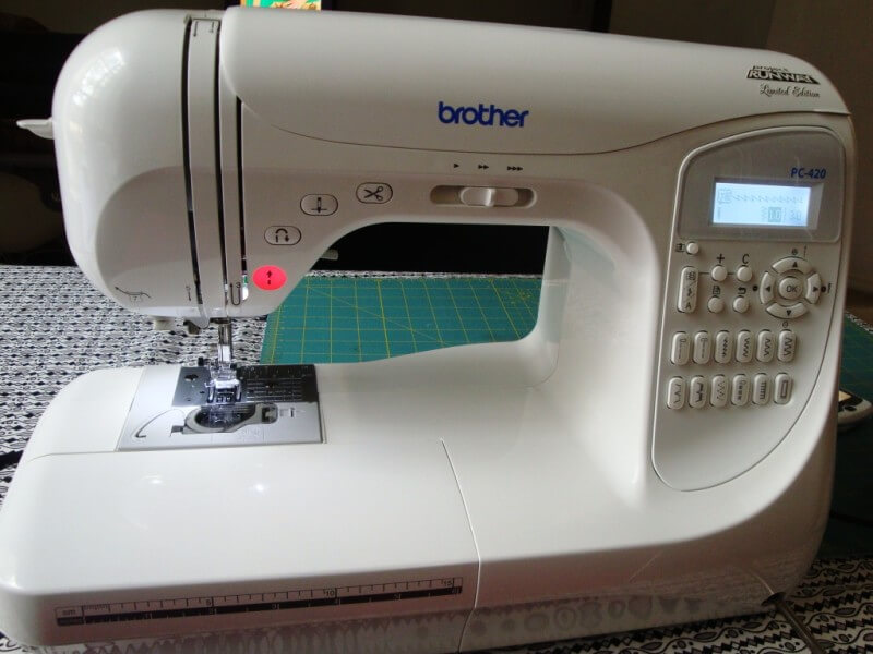 The Brother PC-420 Sewing Machine
