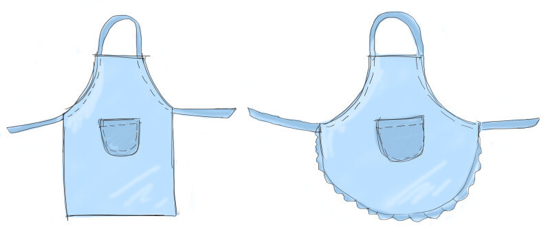 photograph relating to Free Printable Apron Patterns identify How towards Crank out a Very simple Apron Sew My House