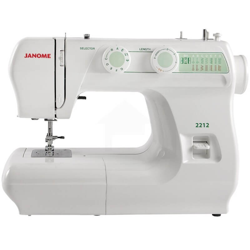 The Janome 2212 is a high quality sewing machine that is durable and will last.