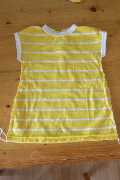 Baby Dress from Womens Shirt