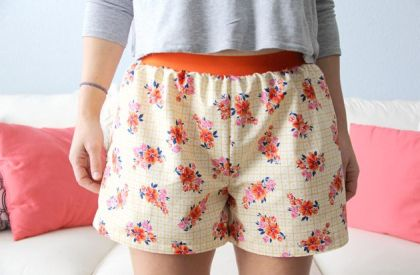 Easy Womens Boxer Shorts