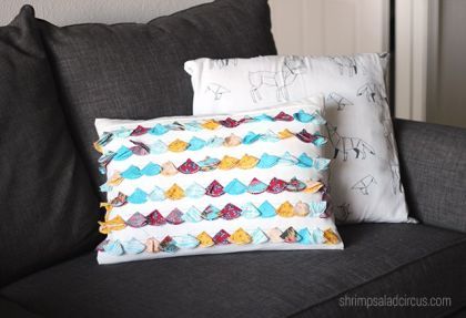 Anthropology Inspired Tassel Cushion