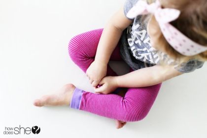 5 Minute Toddler Leggins