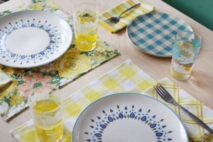 DIY Cloth Napkins and Placemats