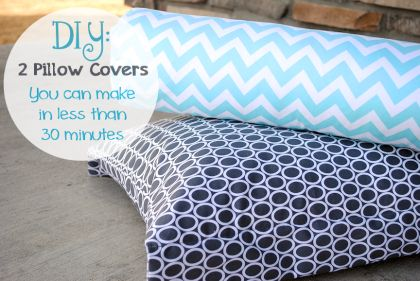 Quick & Easy Pillow Covers
