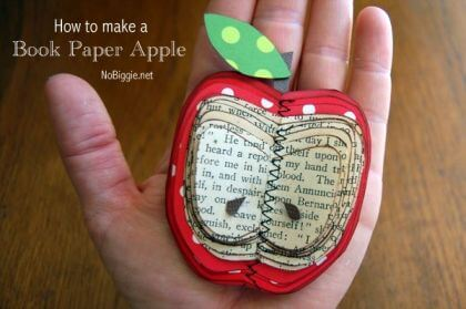 Book Paper Apple