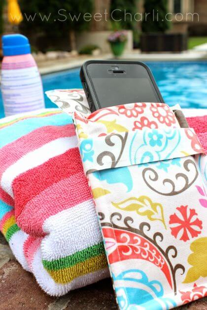 Water Resistant Phone Pouch