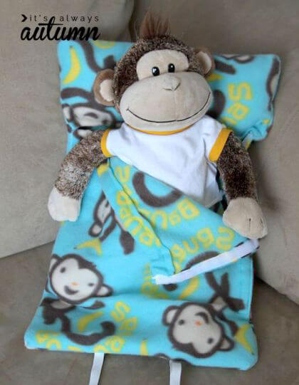 Stuffed Animal Sleeping Bag