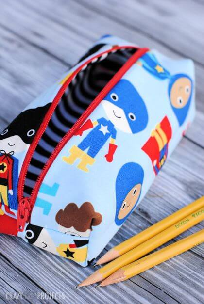Cute and Easy Pencil Bag