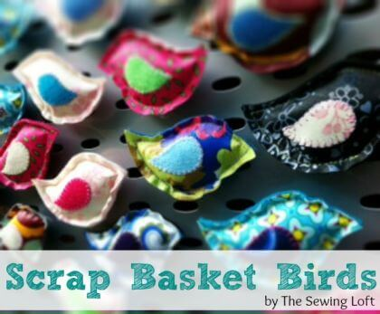 Scrap Basket Birds
