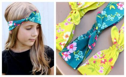 Fabric Knotted Headband