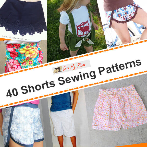 40 Shorts Sewing Patterns Sew My Place